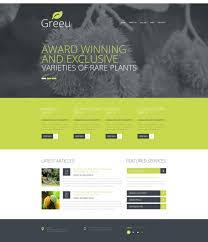 Small Picture Garden Design Responsive Website Template 48350