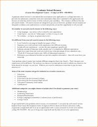 Grad School Resumes Resume for Graduate School Inspirational Grad School Resume Template 1
