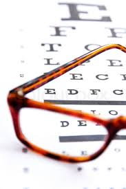 Concept Image Of Optometry Close Up At Stock Image
