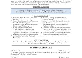 Sr Administrative Assistant Resume Resume Template