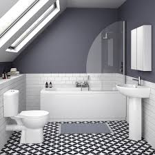 White Bathroom Suite 10 Of The Best Bathroom Suites On A Budget Ideal Home