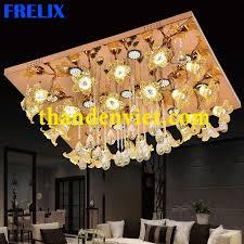 Đèn ốp trần led cao cấp hình chữ nhật PLM6089/950x750
