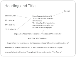 Proper Mla Format Essay Examples Of Format Essays Format For Essay