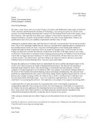 Nyu Local Investment Banking Cover Letter