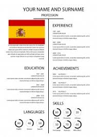 What Is A Cv Template Download Cv Template Horizons Bulgaria