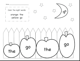Word Family Coloring Pages High Frequency Words Coloring Sheets Getpage Co