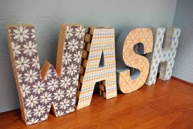 Paper Mache Letters | Crna Cover Letter