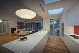 Decorations:Modern Skylight For Kitchen Home Design With Wooden Flooring  Idea Modern Skylight Decoration for