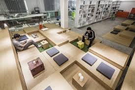 smart office design. 1305 Studio Office: Smart Design Of Furniture To Multifunctional Space | More Than Green Office