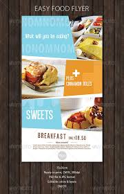Flyer Design Food Restaurant Flyer Templates From Graphicriver Page 46