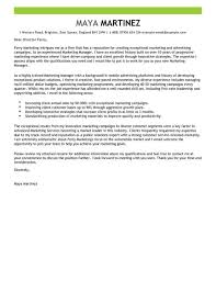 Cover Letter Template Marketing Resume Examples