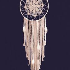 Huge Dream Catchers Huge White Dream Catcher Crochet Doily from MonaKhalilCreations 75