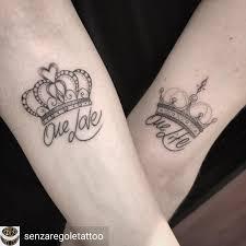 Tatuaggio Corona Regina Polso Nyc