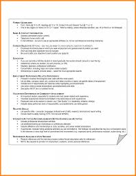 Examples Of Interests On Resume Cv Interest Section Director Extra