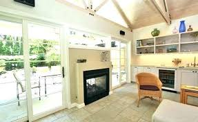 double sided gas fireplace indoor outdoor wonderful two 2 home