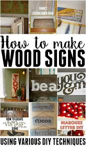 How To Make Home Decor Signs