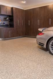 Epoxy flooring garage Metallic Cappuccino Flake Epoxy Flooring Encore Garage Epoxy Garage Flooring Garage Experts