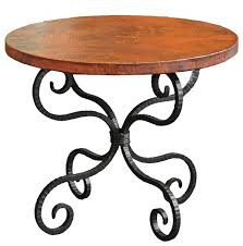 alexander end table with 30 round top traditional side tables and end tables by timeless wrought iron
