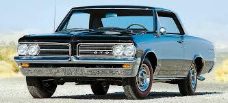Pontiac GTO History - Part 1: 1964-1967 - Old Car Memories