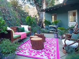 Outdoor Living Room Furniture For Your Patio Outdoor Living Spaces On A Budget Outdoor Grommet Drapes In