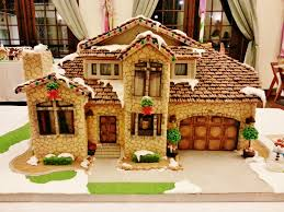 Premade Gingerbread Houses Picture Gingerbread House House Pictures