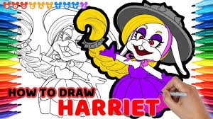 How To Draw Super Mario Odyssey Harriet Of Broodals 95 Drawing