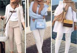 For eid, muslim women wear from the fanciest looks to casually dressed down looks, depending on the personality, mood and cultures. Red Hijab Looks Just Trendy Girls