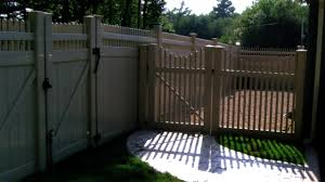 Image Arbor Vinyl Privacy Fences Vinyl Privacy Fences Vinyl Fencing Ma Ri Troy Fence Fences Gates Railings Ma Ri Chain Link Fencing Wrought Iron