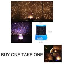 1 take 1 led starry night sky projector lamp star master star moon