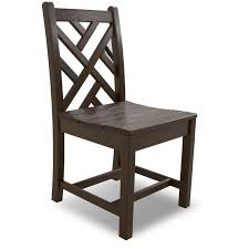 chippendale side chair. POLYWOOD Chippendale Side Chair T