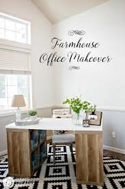 office make over. Farmhouse Office Makeover | This Easy Was And Inexpensive Using Products From Better Make Over