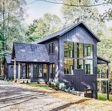 Dark exterior modern farmhouse | Farmhouse Design in 2019 | Metal ...