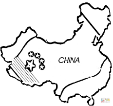 In the pictures below, you will find numerous country flags with their names. Map Of China Coloring Page Coloring Home