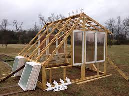 greenhouse from old windows 5