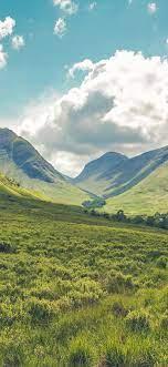 nn46-spring-mountain-green-field-cloud ...