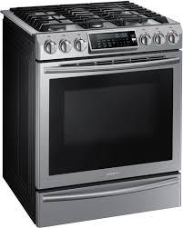 Gas Kitchen Ranges Samsung Nx58h9500ws 30 Inch Slide In Gas Range With True