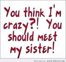 Cute Sister Quotes 21 Wonderful Sister Funny Quotes Also Baker Baker Baker W W W Peek Holly Quotes