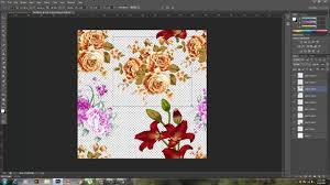 Textile Design Tutorial How To Make A Pattern Design In Adobe Photoshop Textile