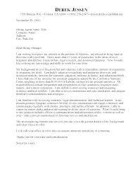 Sample Cover Letter For Lawyer Resume Sample Cover Letter Lawyer Pohlazeniduse