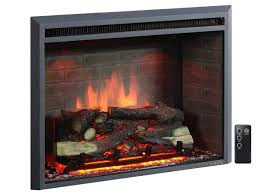 com puraflame 30 western electric fireplace insert with remote control 750 1500w black home kitchen