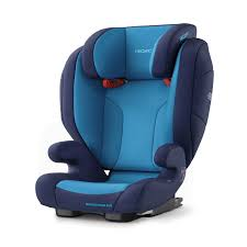recaro germany monza nova evo seatfix xenon blue child seat 15 36 kg
