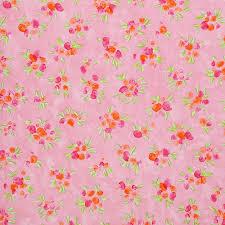 Designers Guild Roze Behang Roll Floral Vinyl Roze Design Kleur P36201