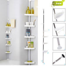 Plastic Corner Shower Shelves Plastic Bathroom Corner Shower Caddies EBay 77