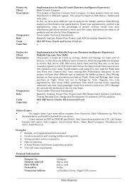 Business Resumes Lead Business Analyst Resume of Nitin Khanna 94