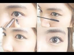 korean daily eye makeup tutorial wishtrend