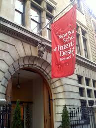 New York School Of Interior Design New York School Of Interior Design Broadside