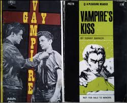 Gay vampire fiction books