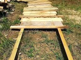 wood sidewalk ideas good ideas for wooden walkway sloped backyard steps wood sidewalk designs