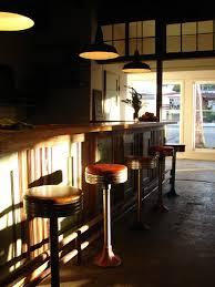 lighting for a bar. Barn Lighting Over A Bar For