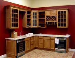 Glass Cabinet Doors Kitchen Kitchen Cabinet Glass Door Design New Design Mdf Kitchen Cabinet